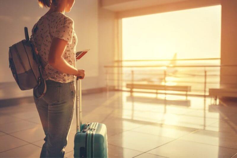 スーツケース 空港